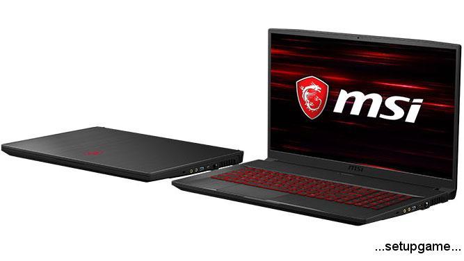لپ تاپ گیمینگ سبک و باریک MSI GF75 Thin معرفی شد