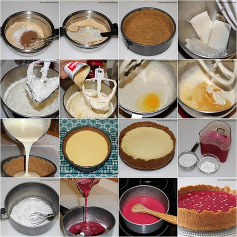 چیز کیک انار,تهیه چیز کیک انار