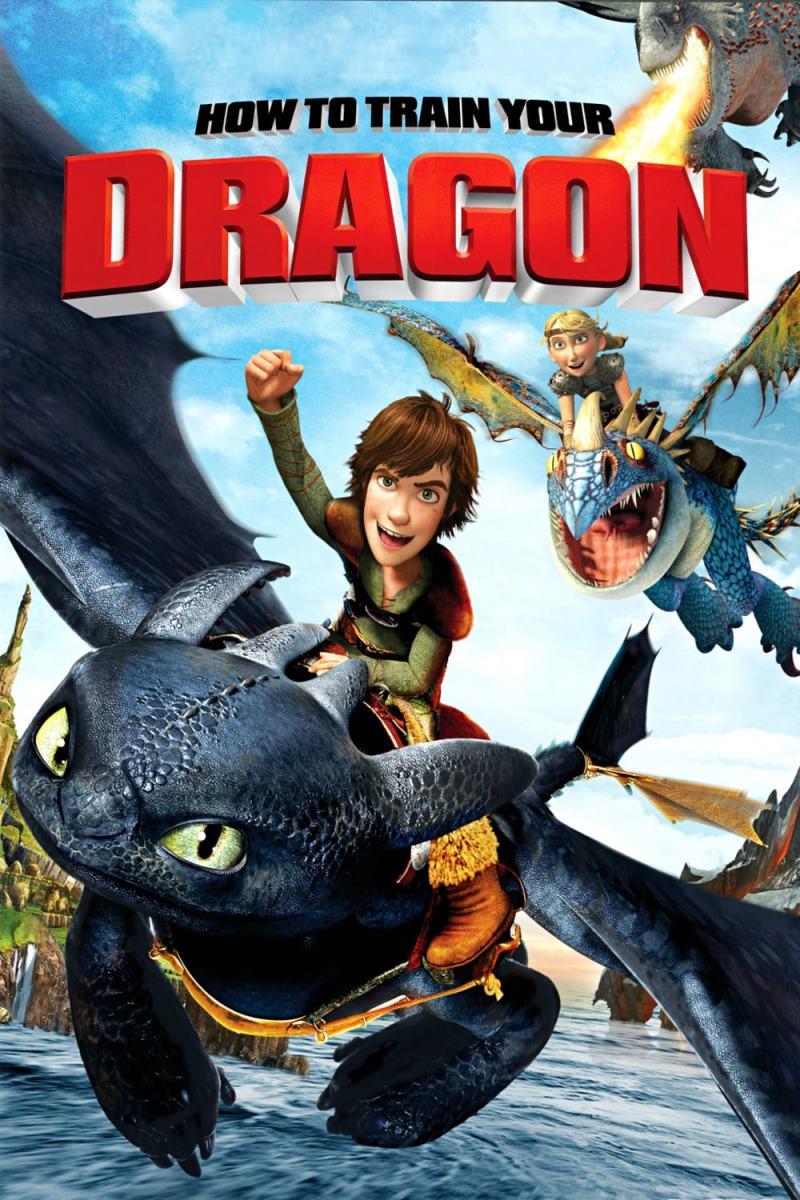 دانلود فیلم How to Train Your Dragon 2010 دوبله فارسی