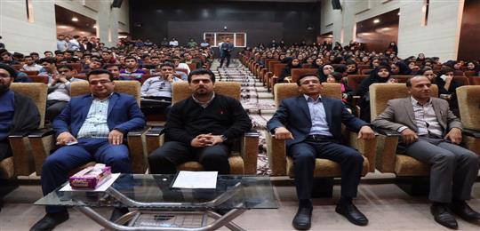 برگزاری مراسم روز دانشجو در دانشگاه آزاد اسلامی واحد لامرد
