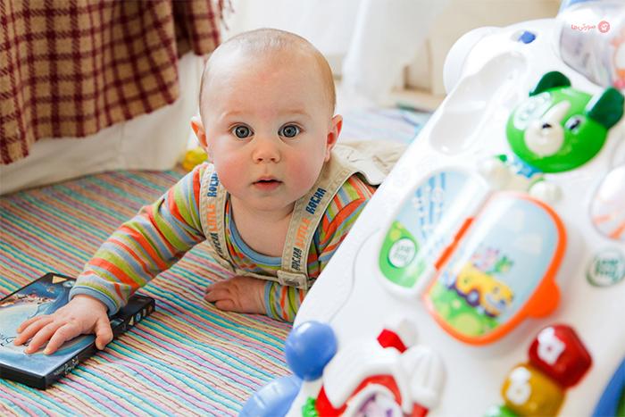 بررسی آلرژی در نوزادان