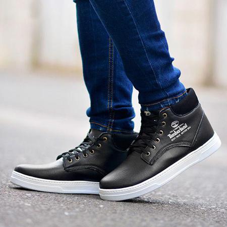 فروش کفش مردانه ساقدار Timberland طرح Baskets