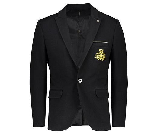 فروش کت تک مردانه جیوبرتی مدل Black Terico02