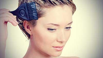 پاک کردن رنگ مو از روی پوست