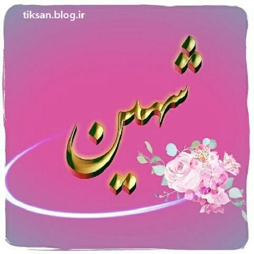 عکس نوشته اسم شهین  تصاویر نام شهین برای پروفایل