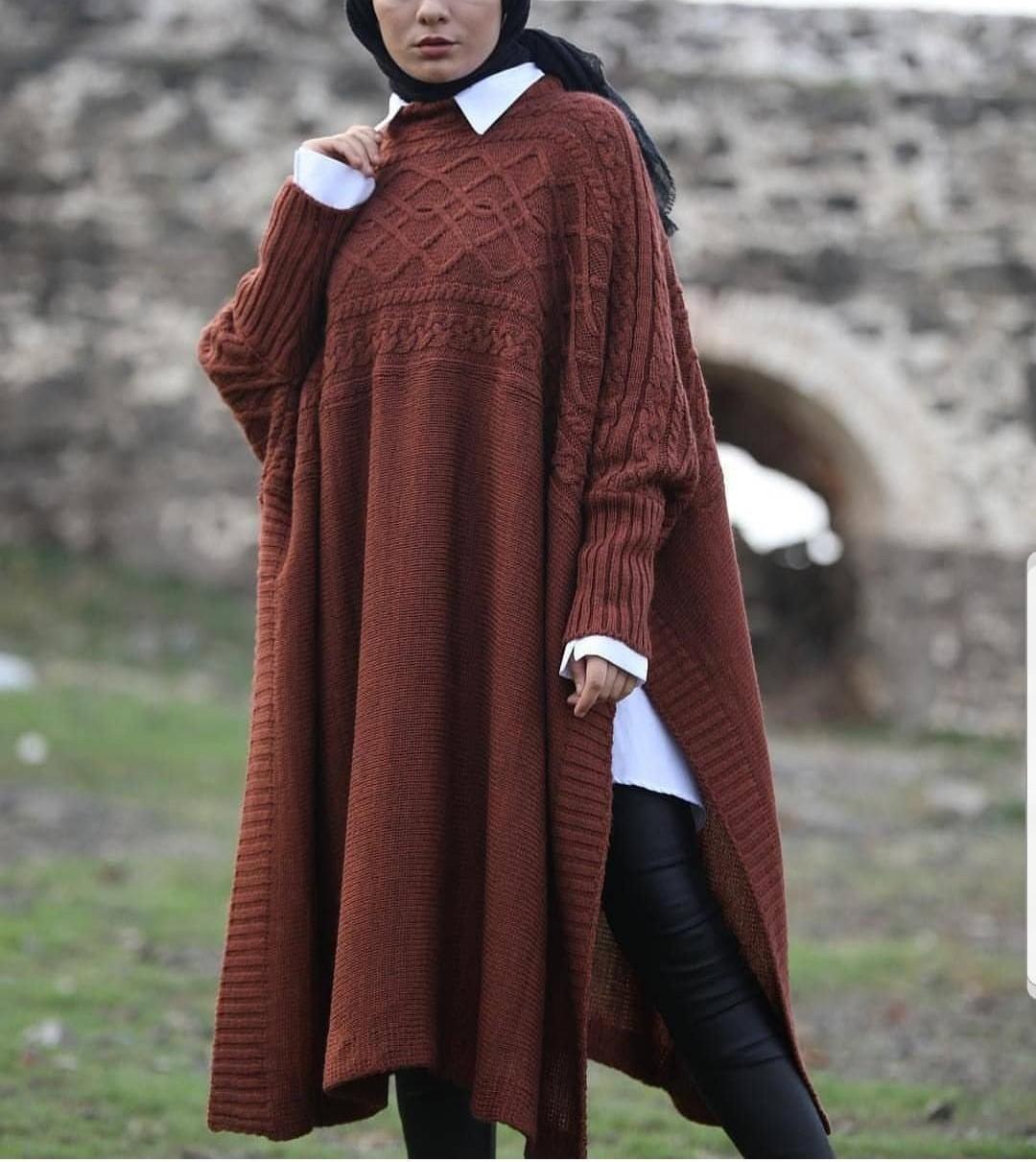مدل مانتوی بافت زنانه 2019