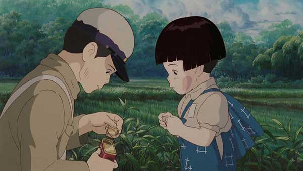 انیمیشن مدفن کرم های شب تاب-Grave of the Fireflies 1988