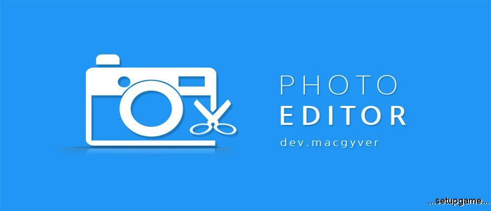 Photo Editor Android دانلود Photo Editor 3.9.1 - اپلیکیشن ویرایش آسان تصاویر اندروید + مود