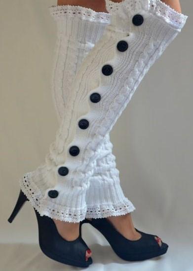 مدل پاپوش بافتنی عروس 6