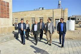 بازدید سرزده رئیس دانشگاه علوم پزشکی شیراز از خدمات سلامت در شهرستان های لامرد و مهر