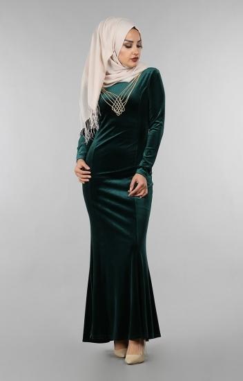 جدیدترین مدل لباس مخمل بلند مجلسی