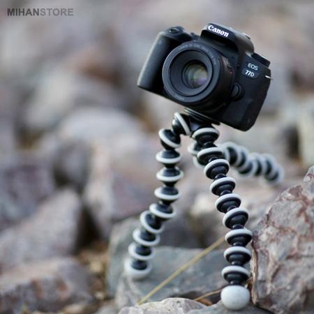 سه پایه منعطف موبایل و دوربین عکاسی مدل ضد لغزش گوریلا