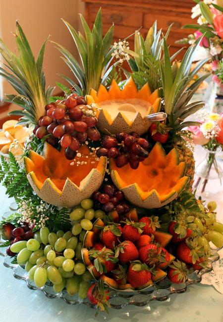 میوه آرایی های زیبای یلدا, زیباترین میوه آرایی شب یلدا
