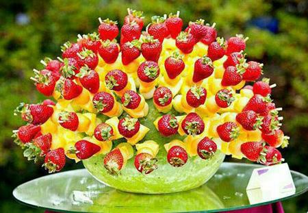 میوه آرایی شب یلدا,میوه آرایی شب چله