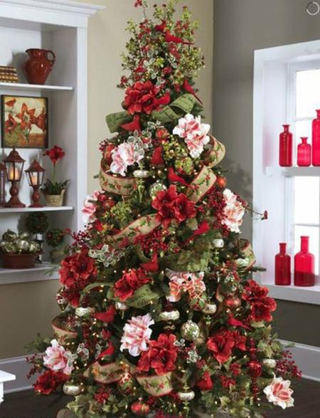 ساخت و تزیین درخت کریسمس,تزیین درخت کریسمس