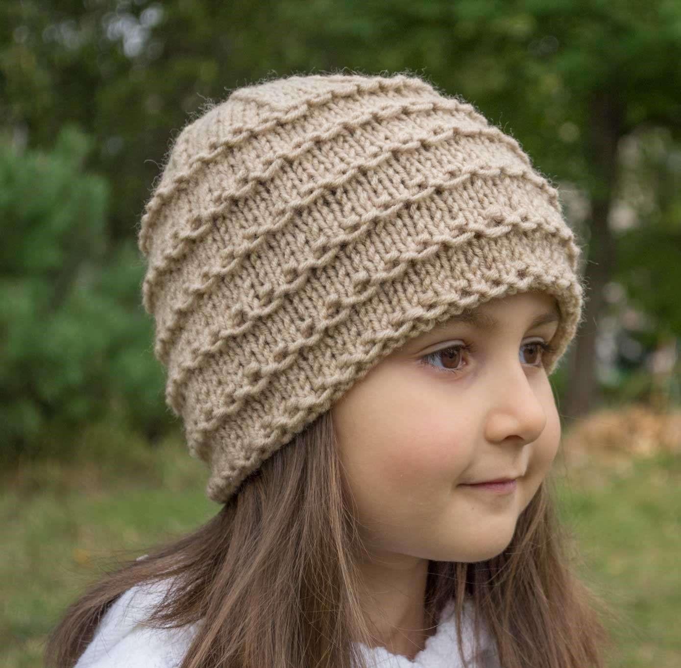 مدلهای کلاه بافتنی دخترانه بچه گانه