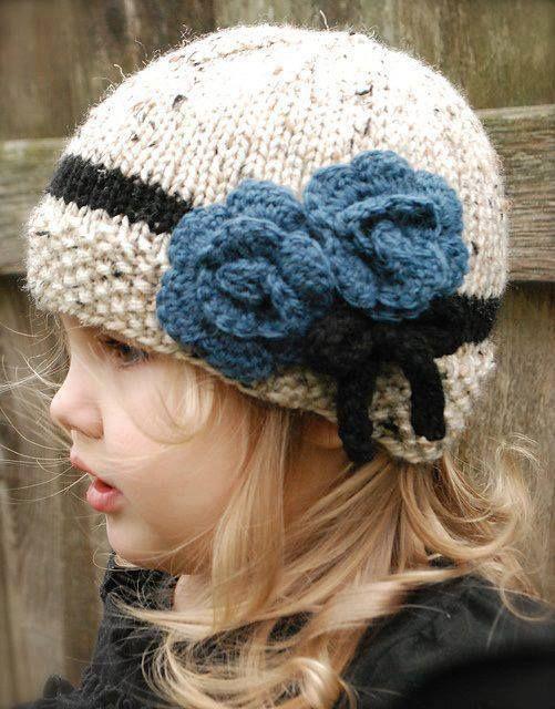مدل شال کلاه بافتنی دخترانه بچه گانه