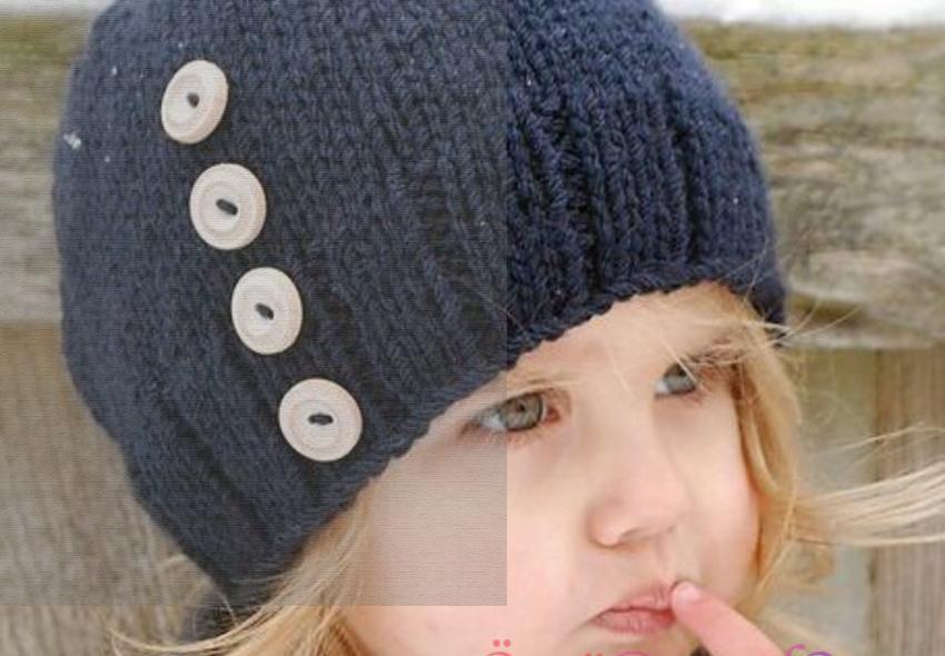 جدیدترین مدل کلاه بافتنی دخترانه 98
