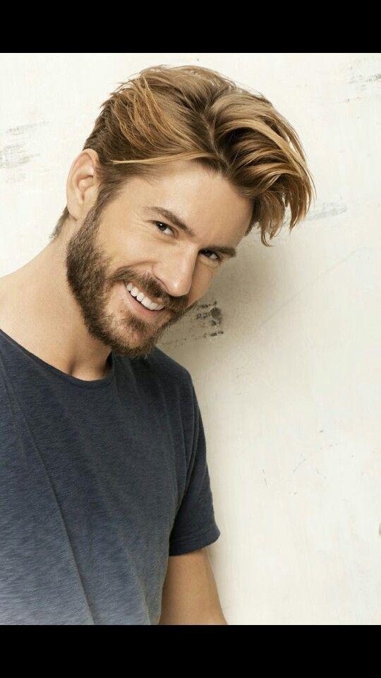 مدل مو کوتاه مردانه با ریش