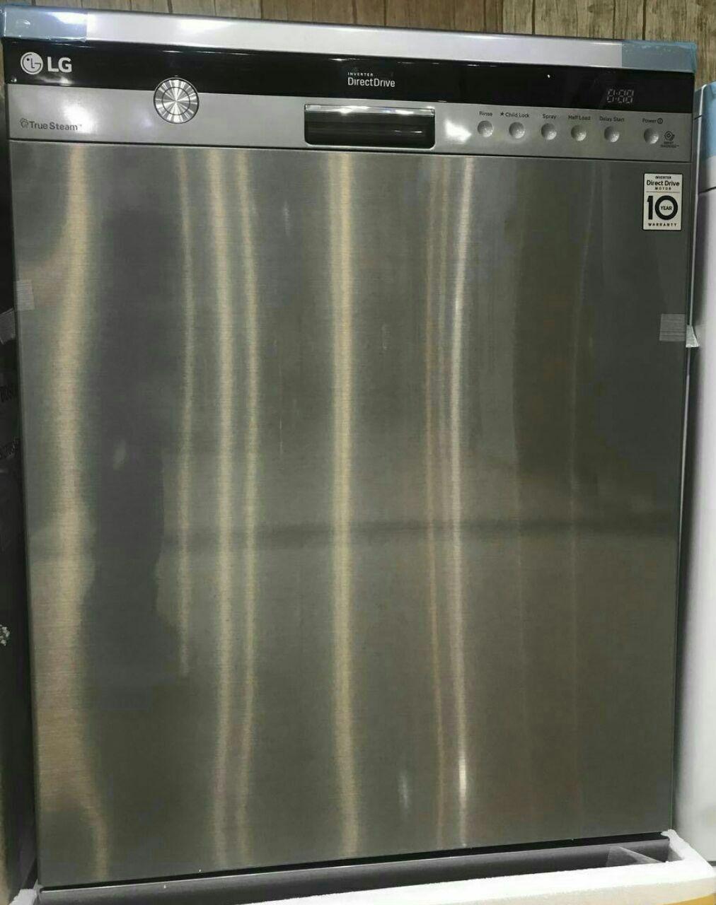 ظرفشویی 14 نفره الجی کره مدل 1444 با برنامه های متنوع شستشو و خشک کن
