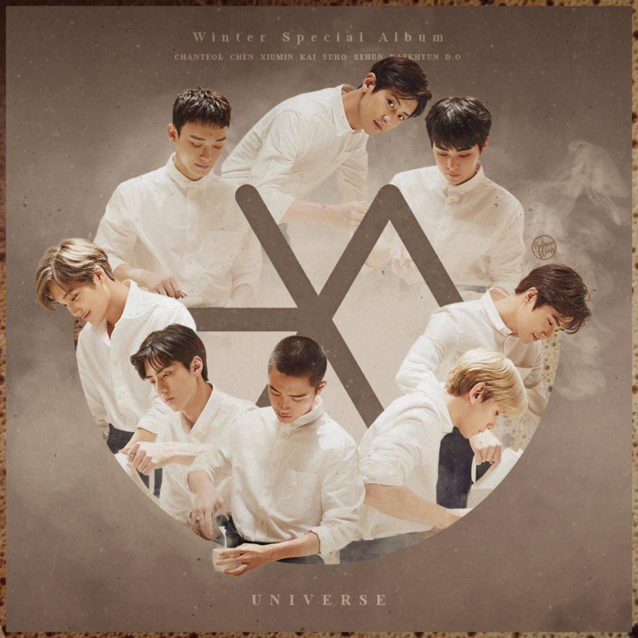 دانلود آلبوم یونیورس Universe از اکسو EXO | با کیفیت عالی
