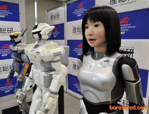 ربات های شاغل ژاپنی