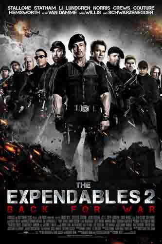 دانلود دوبله فارسی فیلم The Expendables 2 2012