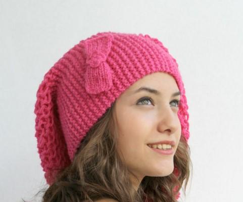 مدل شال و کلاه بافتنی زنانه جدید