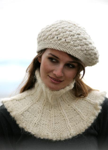 جدیدترین مدل شال و کلاه بافتنی