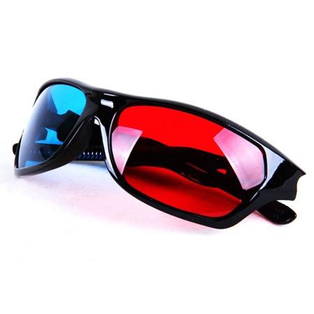 خرید عینک سه بعدی ارزان اورجینال به همراه 5 DVD سه بعدی ساز