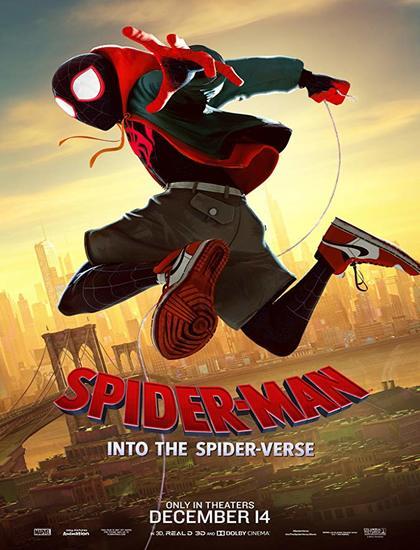 دانلود انیمیشن مرد عنکبوتی به درون دنیای عنکبوتی 2018 با کیفیت عالی