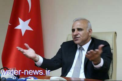 استاندار وان ترکیه از احداث تصفیه خانه آب در 2019 خبر داد