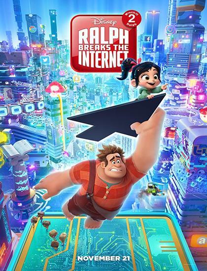 دانلود انیمیشن رالف خرابکار 2 2018 Ralph Breaks the Internet