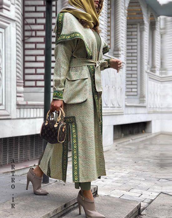 عکس مدل مانتو برای عید