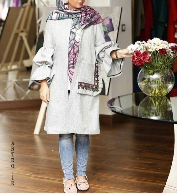 مدل مانتوهای جدید زنانه ایرانی