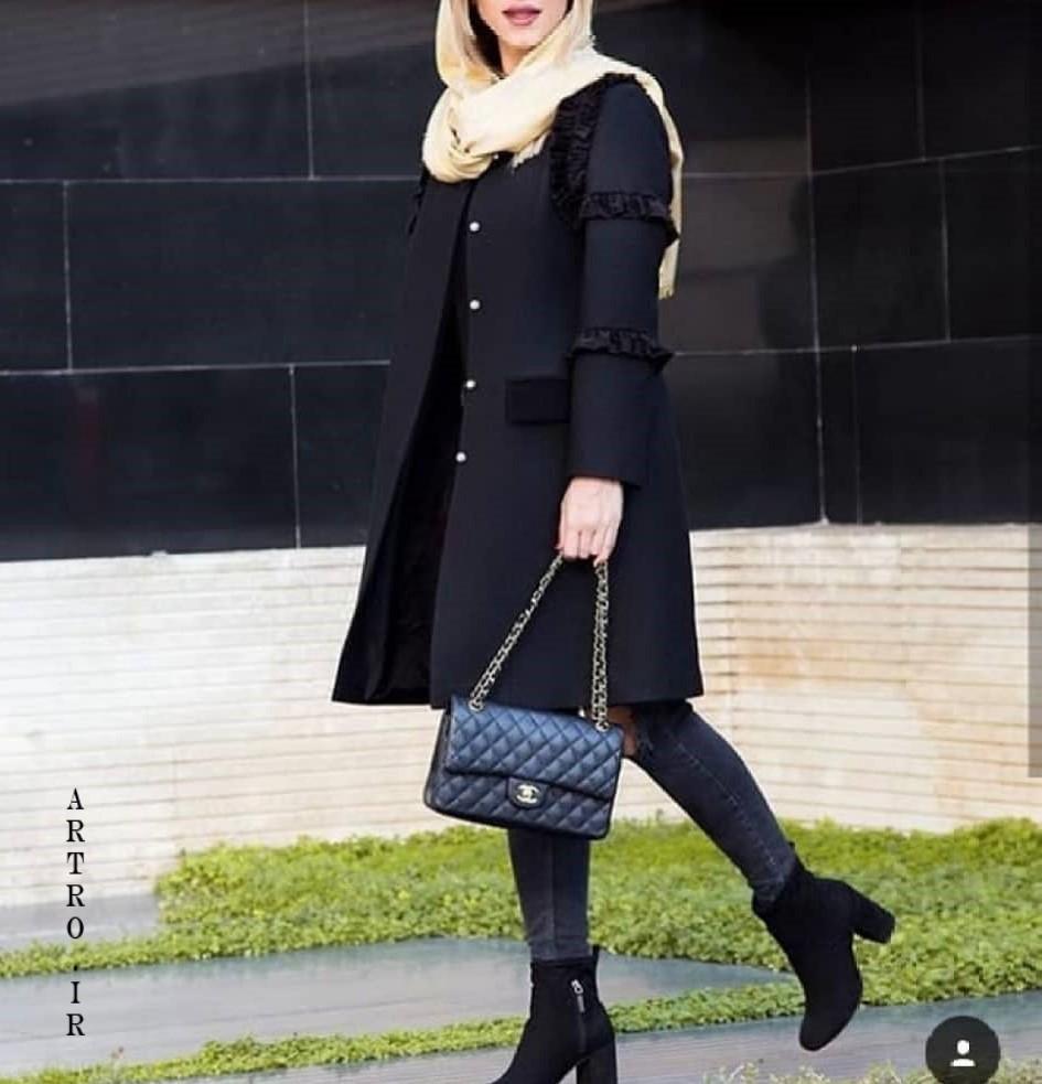 مدل مانتو مجلسی بلند زنانه جدید