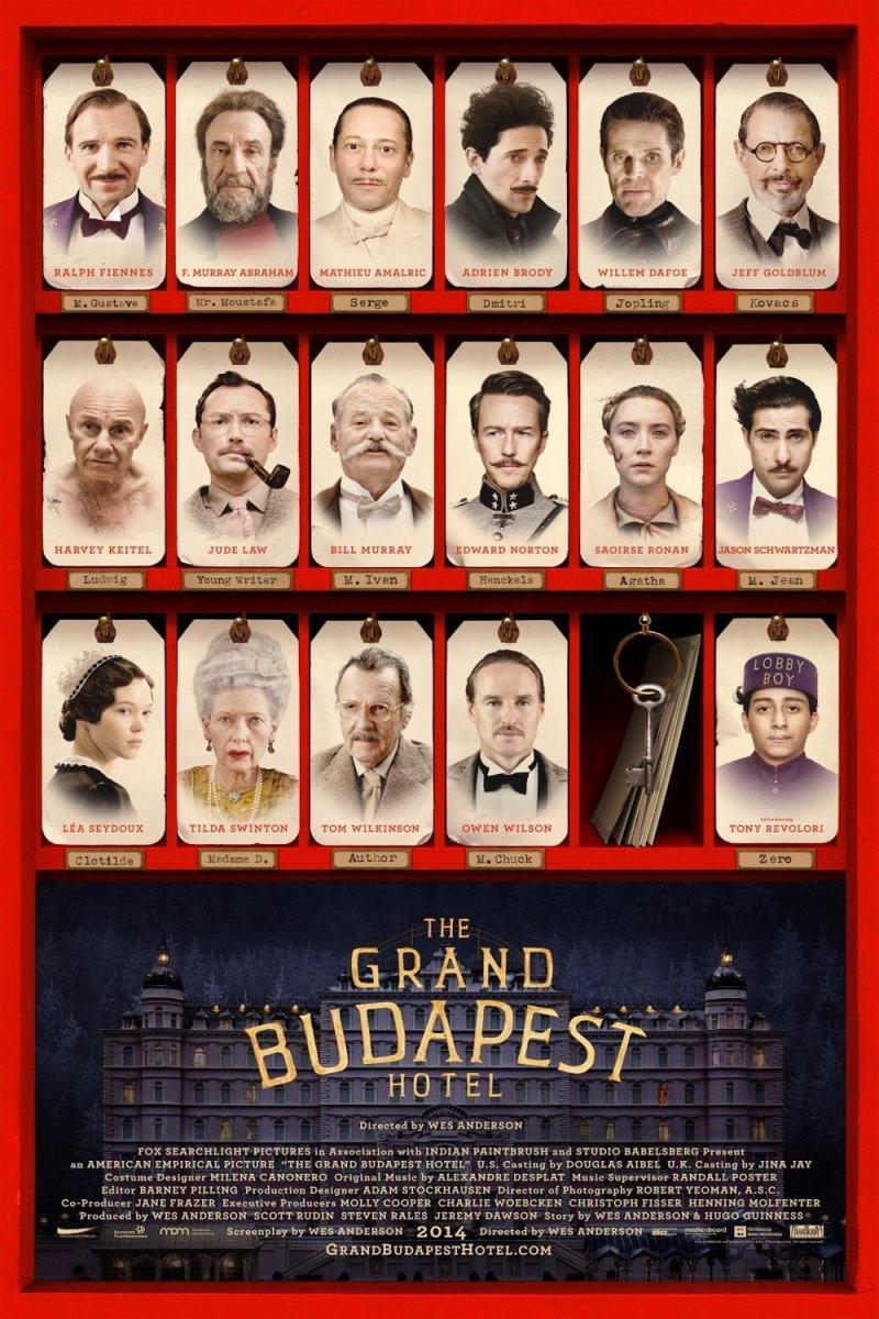 دانلود زیرنویس فارسی فیلم هتل بزرگ بوداپست 2014