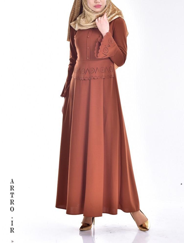 مدل مانتو مجلسی زنانه شیک بلند
