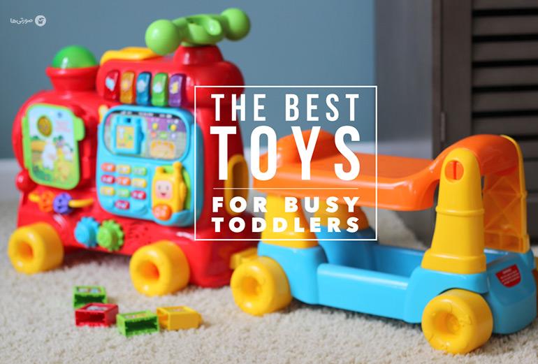 اسباب بازی های مناسب برای کودک ۷ ماهه