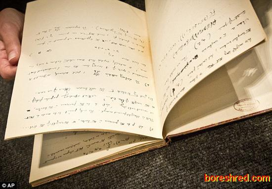دست نوشته های پدر هوش مصنوعی