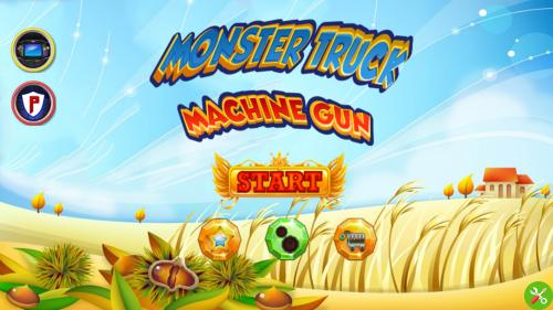 سورس بازی اندروید استدیو Monster Truck Machine Gun
