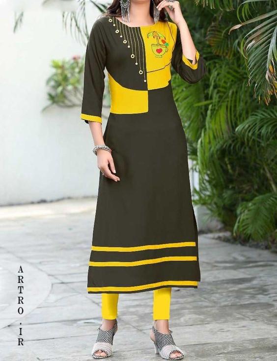 مدل مانتو بلند افغانی