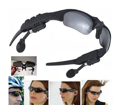 عینک آفتابی و هدفون بی سیم بلوتوثی مدل FASHION PIONEER