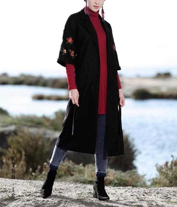 مدل مانتو بهار بلند