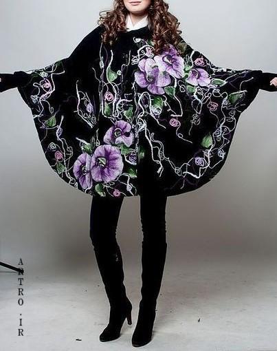 عکس مدل مانتو شیک بهاری 1