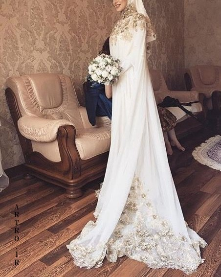 جدیدترین مدل لباس عروس پوشیده 2019
