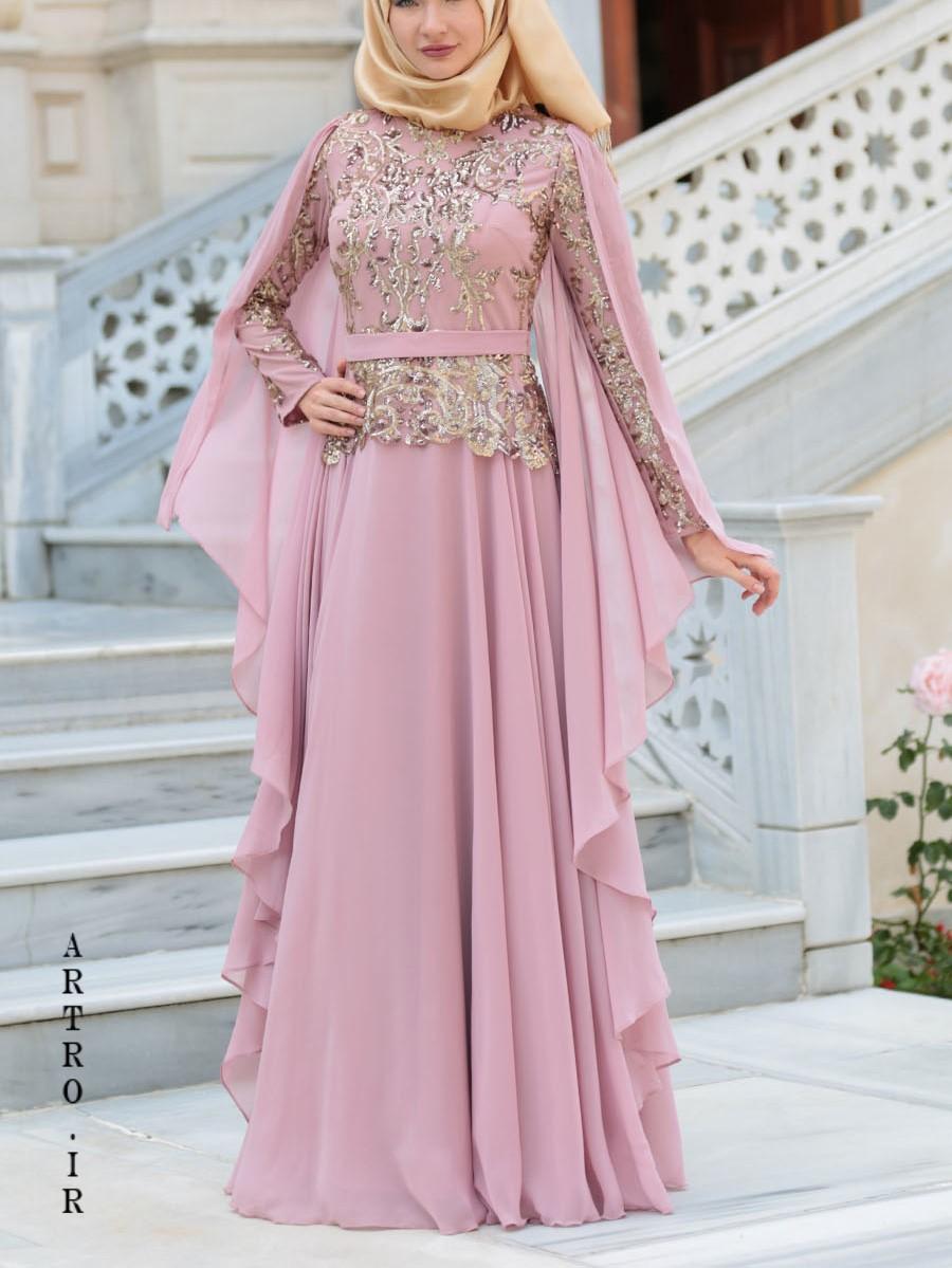 مدل لباس عروس پوشيده