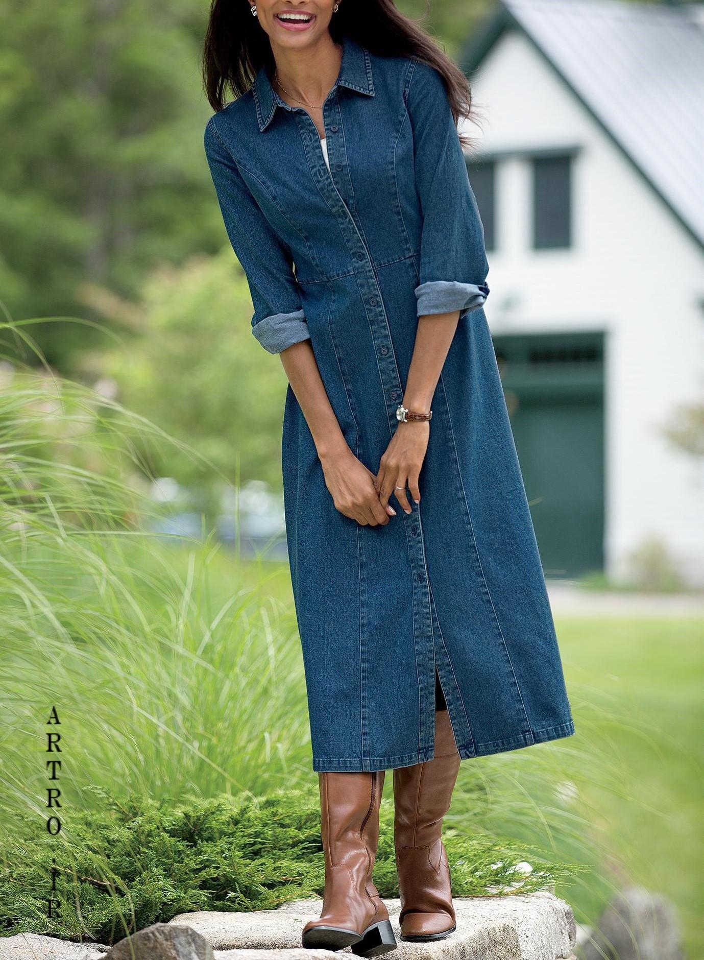 مدل مانتو جین شیک