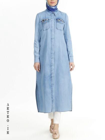مدل مانتو جین بهاره