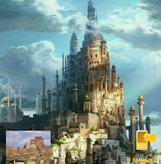 تصوير بازسازى شده از قلعه الموت قزوين توسط دانشگاه کلمبیا